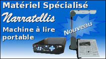 Mat�riel Sp�cialis� : Narratellis, machine � lire portable (Nouveau)