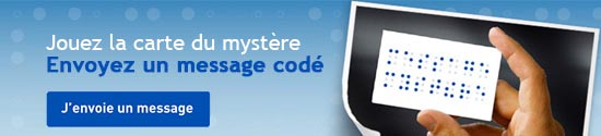 J'envoie un message myst�re